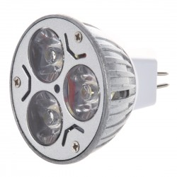 Ledavm - 3x1 Watt 12 Volt İğne Ayak Mr16 Led Spot